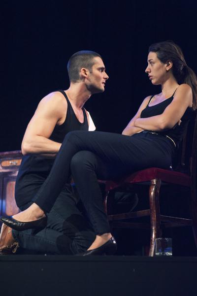 Sergio mur y Alicia Rubio. Fotografía Sergio frías