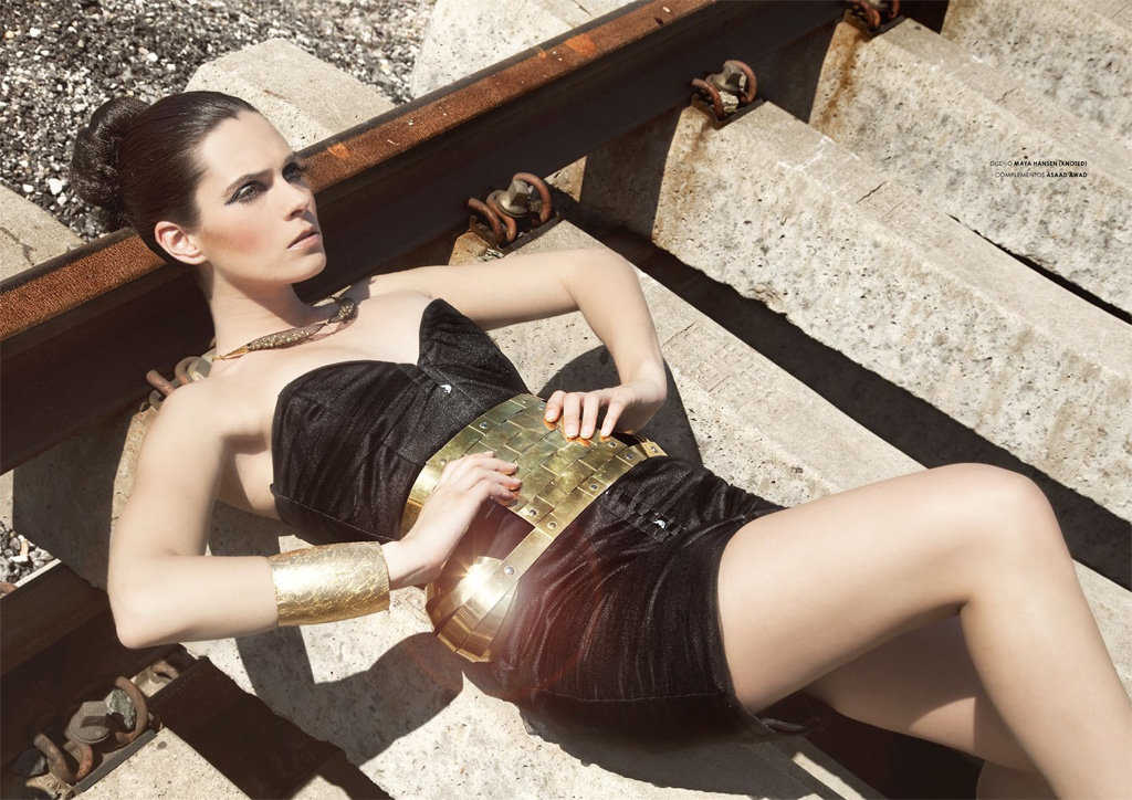 Maya Hansen collection, Ana Sanchez model