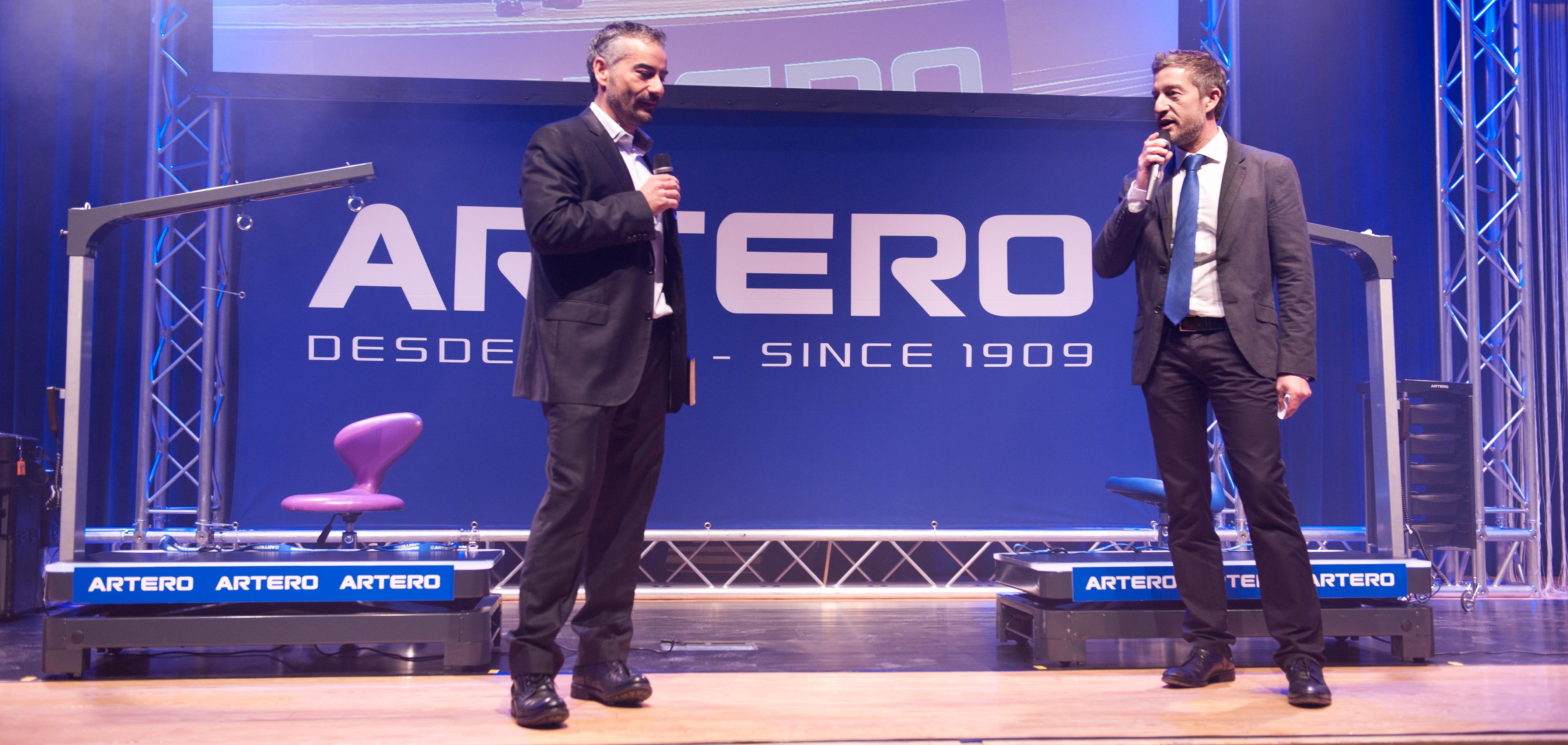 Alex Artero, Eduardo Artero