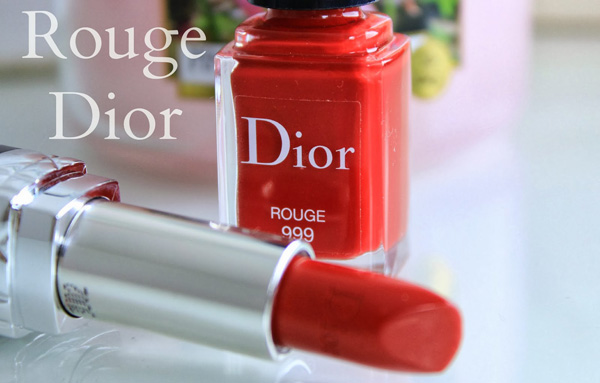 999 rouge dior nails