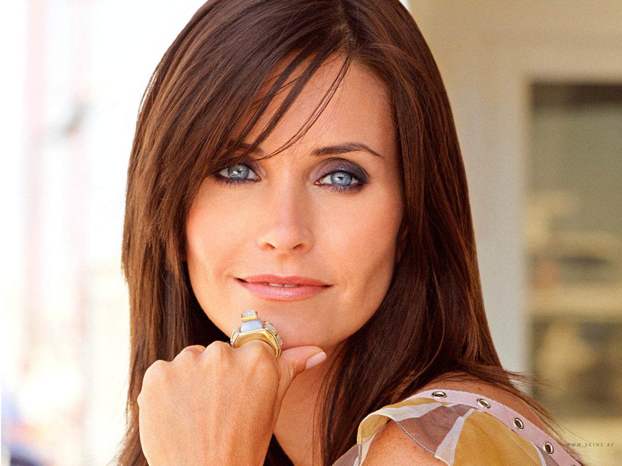 courtney cox rostro cuadrado