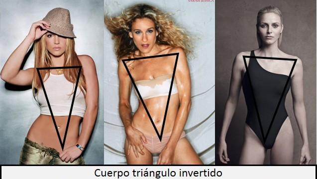 cuerpo triangulo invertido