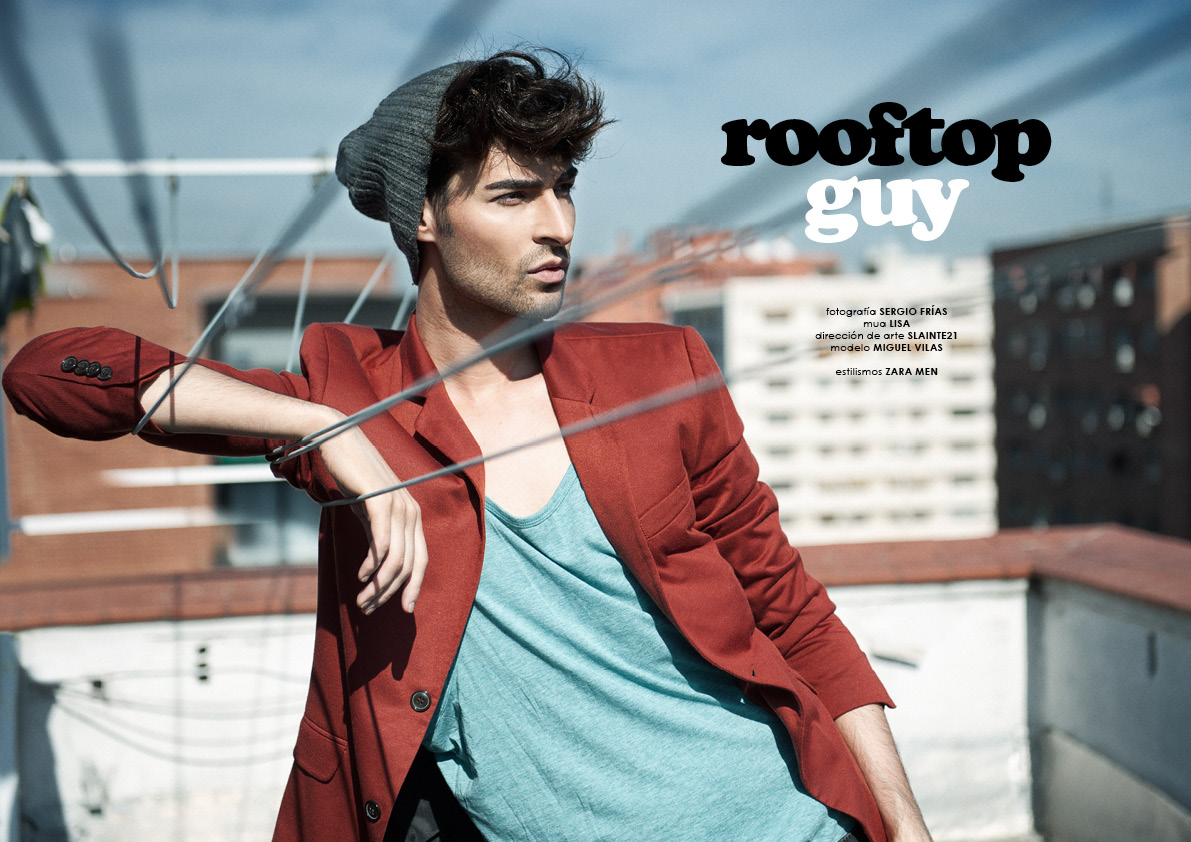Rooftop Guy editorial, photo Sergio Frías