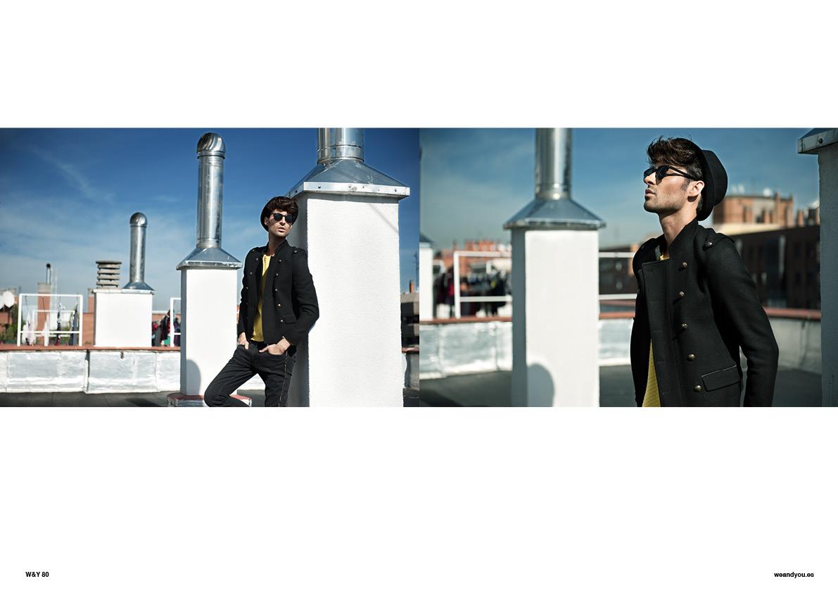 Rooftop Guy editorial, photo Sergio Frías