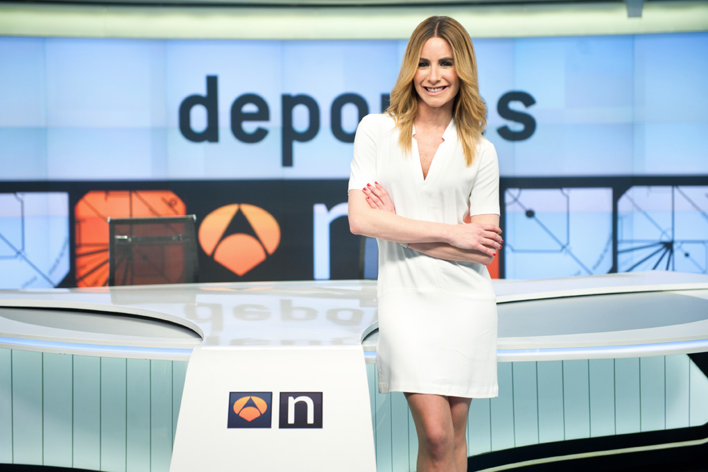 Ainhoa Arbizu, antena3 deportes. Foto: Sergio Frías